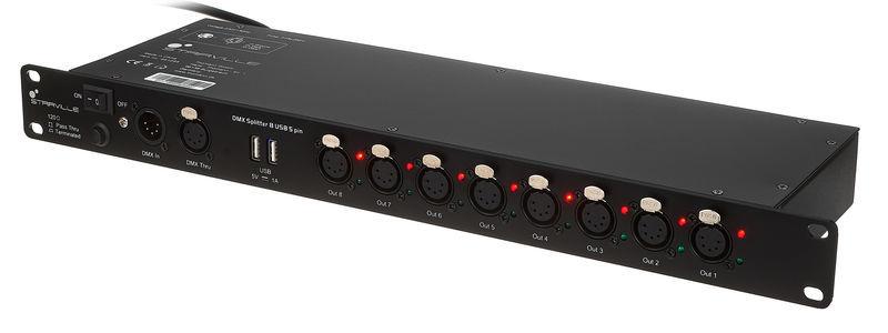 DMX Splitter 8 USB 5 pin Stairville