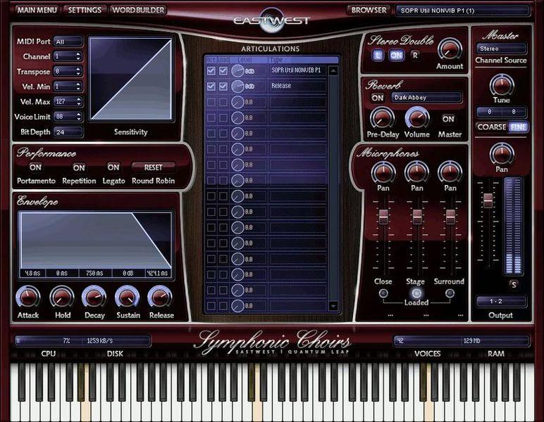 EastWest Symphonic Choirs Platinum Plus