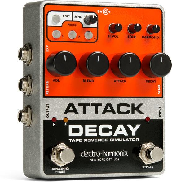 Attack Decay Tape Reverse Sim. Electro Harmonix