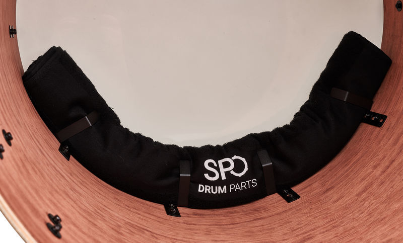 SPO Drum Parts Damp Clamp + Towel