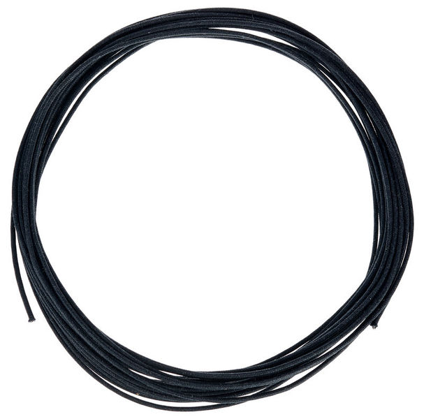 Allparts Cloth Covered Stranded Wire BK