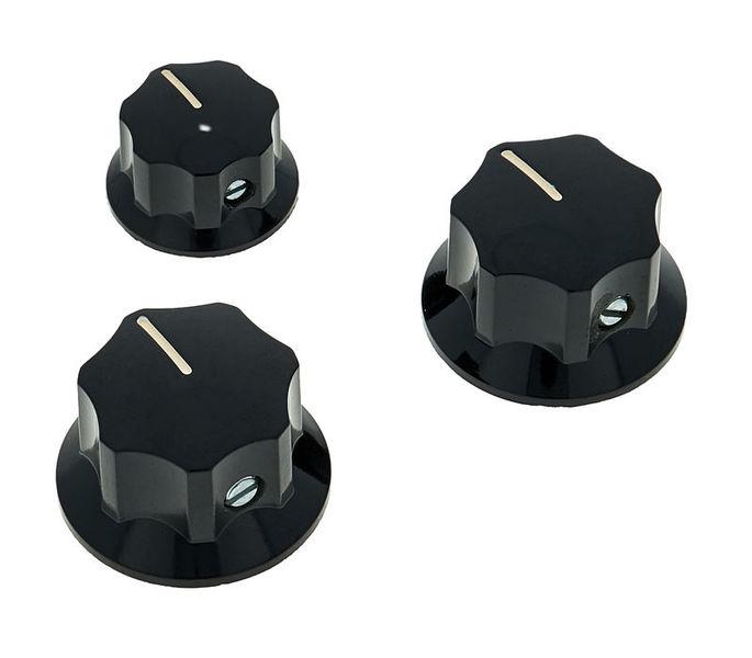 Allparts J-Style Knobs Black