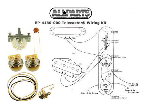 Allparts T-Style Wiring Kit