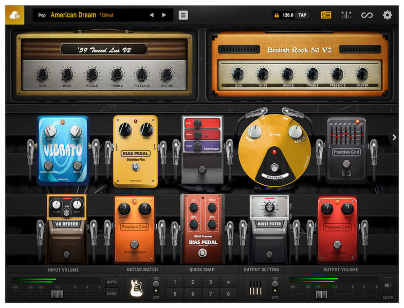 Positive Grid BIAS FX 2 Professional