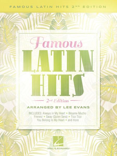 Hal Leonard Famous Latin Hits