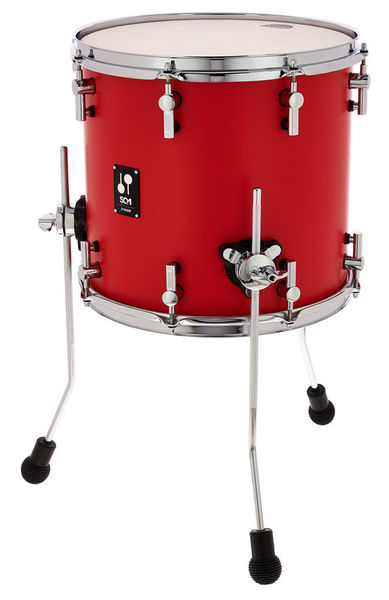 """Sonor SQ1 14""""x13"""" Floor Tom Red"""