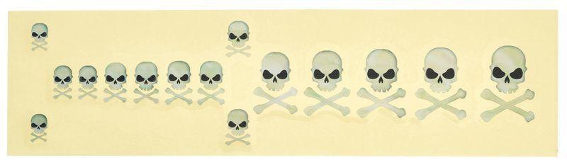 Jockomo Skull w/Crossbones Sticker