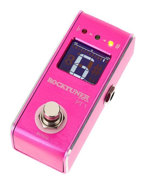 Warwick Rocktuner Pedal Tuner Hot Pink