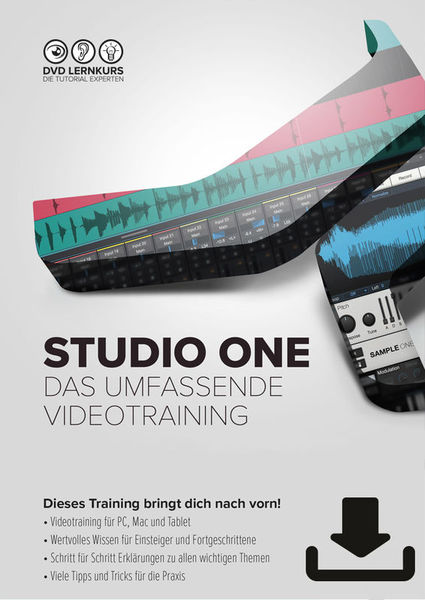 DVD Lernkurs Hands on Presonus Studio One