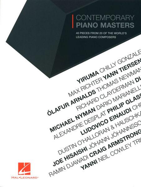 Hal Leonard Contemporary Piano Masters