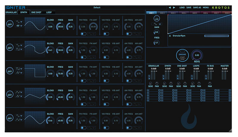 Krotos Audio Igniter Full Tank