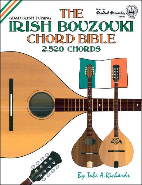 Cabot Books Publishing Irish Bouzouki Chord Bible