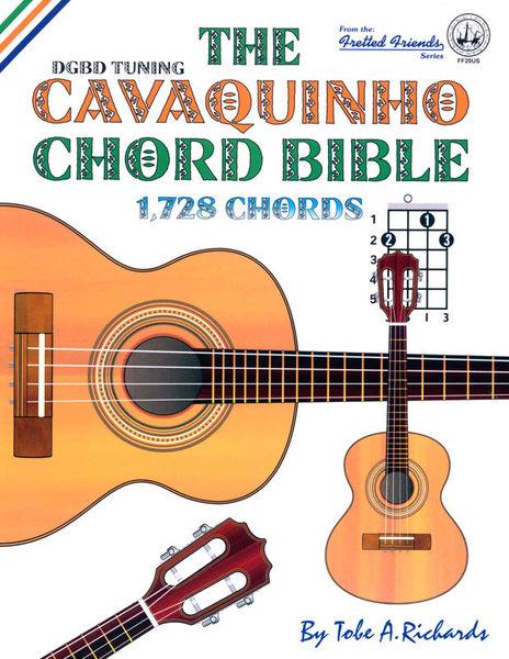 Cabot Books Publishing Cavaquinho Chord Bible