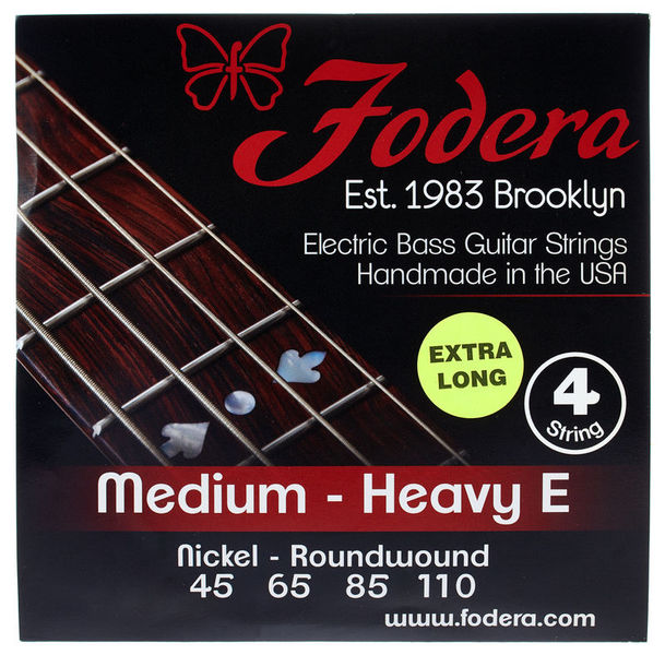 Fodera 4-String Set 45110 XL Nickel