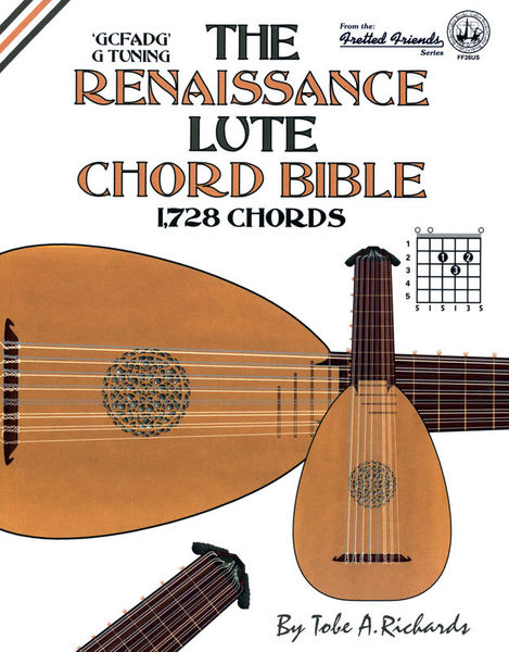 Renaissance Lute Chord Bible Cabot Books Publishing