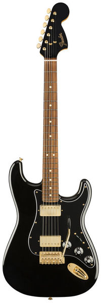 Fender LTD Strat Mah Blacktop BK