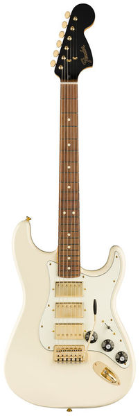 Fender LTD Strat Mah Blacktop OWT
