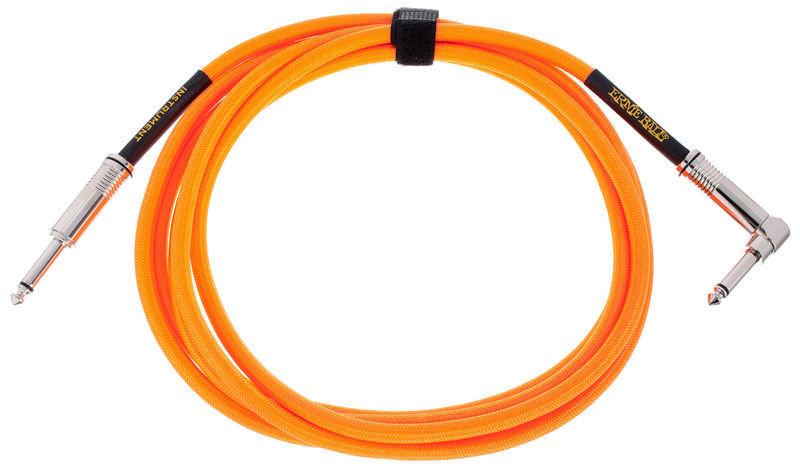 Ernie Ball Instrument Cable Neon Orange
