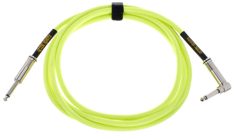 Ernie Ball Instrument Cable Yellow EB6080
