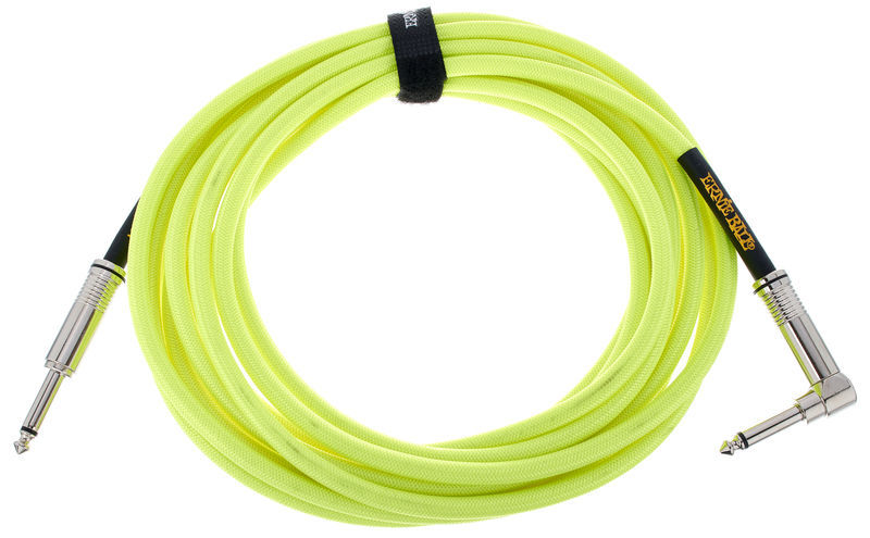 Ernie Ball Instrument Cable Yellow 6