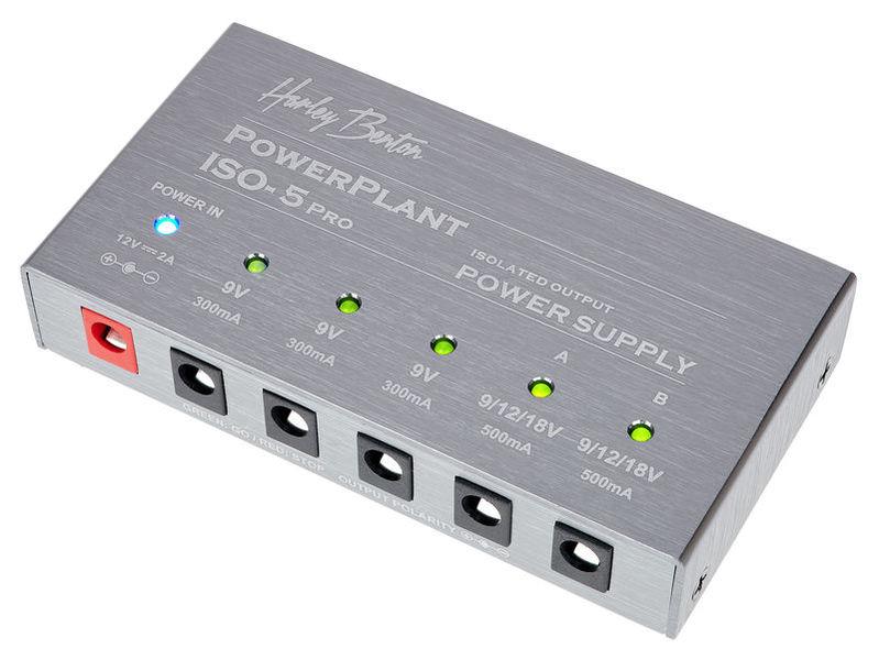 PowerPlant ISO-5 Pro Harley Benton