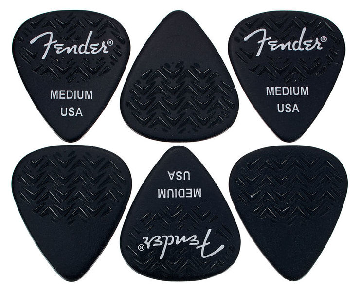 Fender 351 Wavelength Pick Med Set
