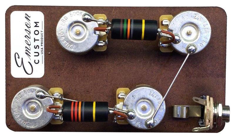 Emerson Custom SC Short Shaft Prewired Kit