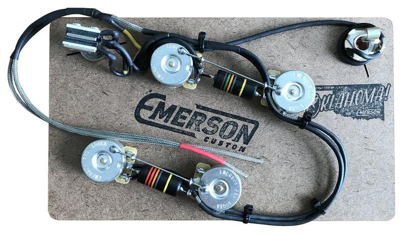 Emerson Custom Semi-Hollow Prewired Kit
