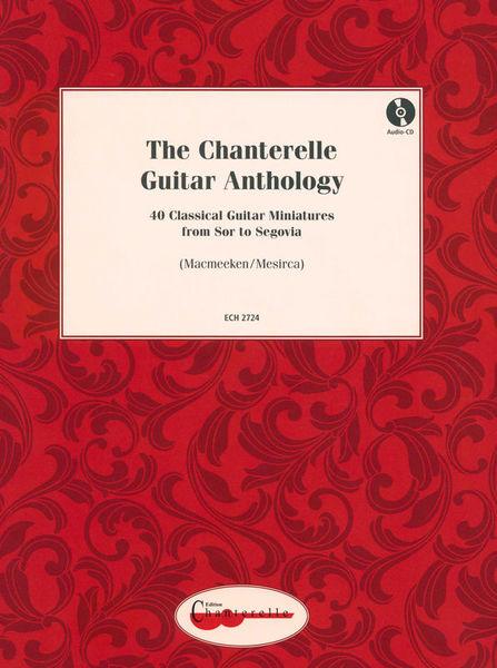 Edition Chanterelle Chanterelle Guitar Anthology