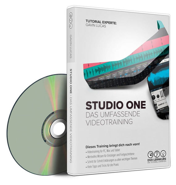 Hands on Presonus Studio One DVD Lernkurs