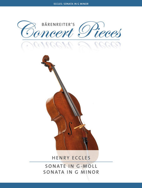 Bärenreiter Eccles Sonata in G Minor Cello