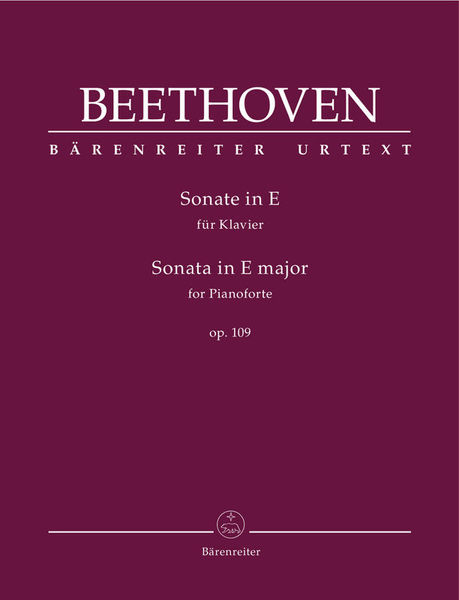 Bärenreiter Beethoven Sonate in E