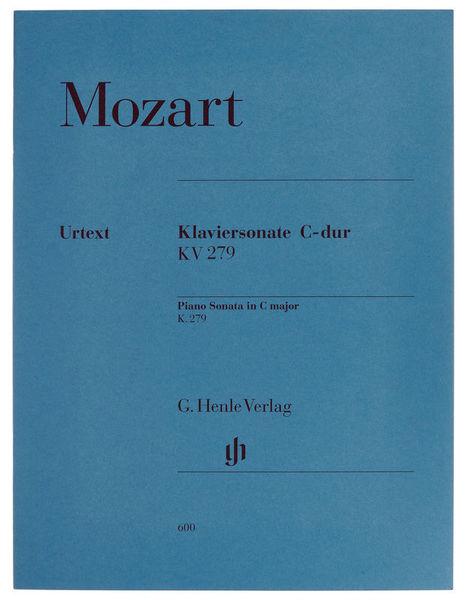 Henle Verlag Mozart Sonate C-Dur KV 279