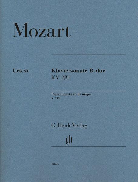 Henle Verlag Mozart Sonate B-Dur KV 281