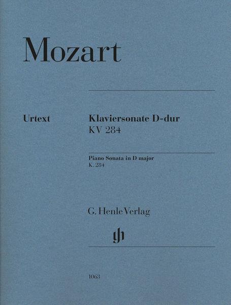 Henle Verlag Mozart Sonate D-Dur KV 284