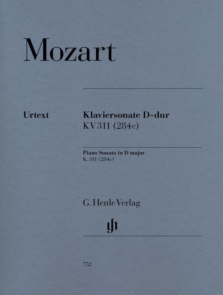 Henle Verlag Mozart Sonate D-Dur KV 311