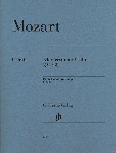 Henle Verlag Mozart Sonate C-Dur KV 330