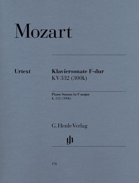 Henle Verlag Mozart Sonate F-Dur KV 332