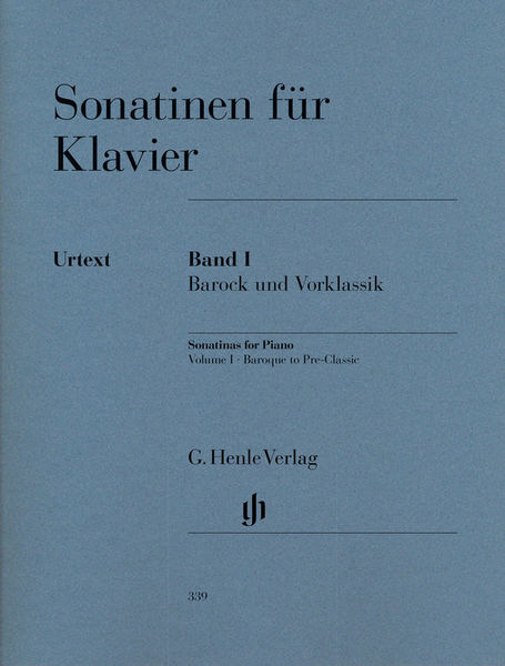Henle Verlag Sonatinen for Klavier Vol.1