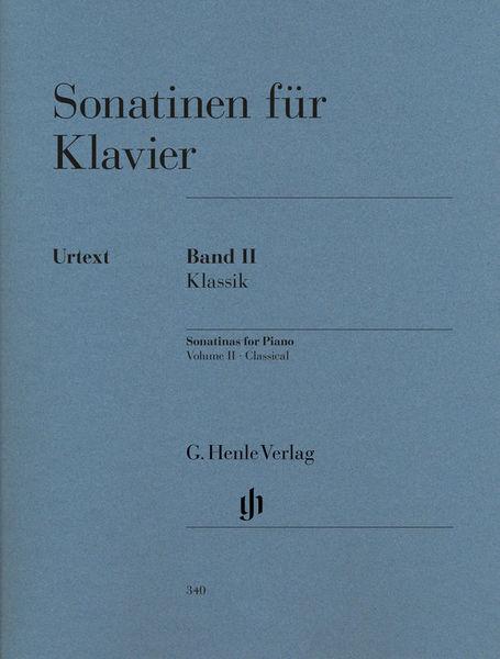 Henle Verlag Sonatinen for Klavier Vol.2