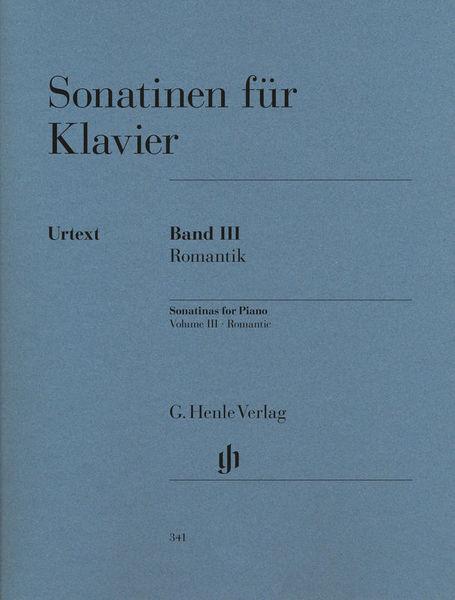 Sonatinen for Klavier Vol.3 Henle Verlag