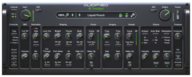Audified ToneSpot Bass Pro