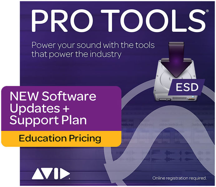 Avid Pro Tools Update Plan New EDU