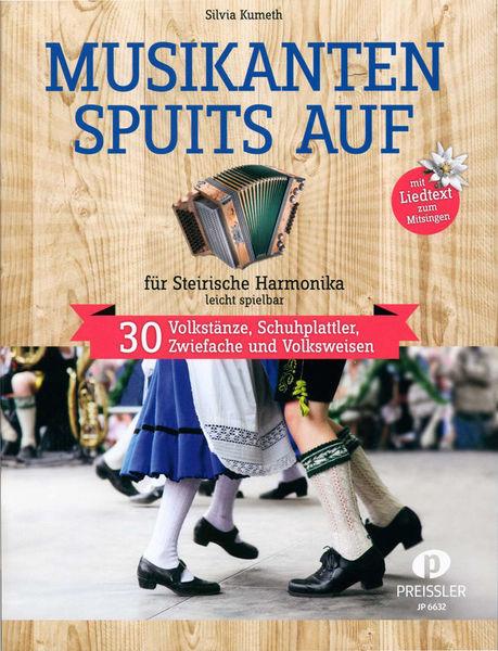 Musikverlag Preissler Musikanten spuits auf