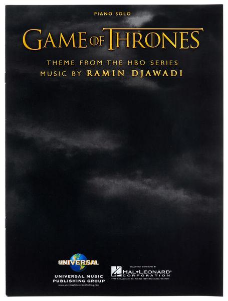 Hal Leonard Game Of Thrones Theme