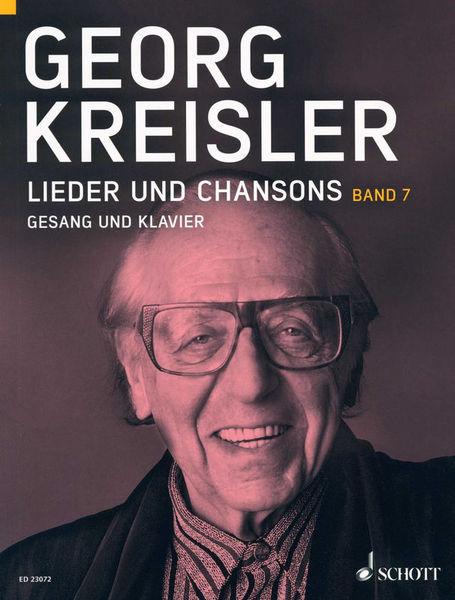 Schott Kreisler Lieder und Chansons 7
