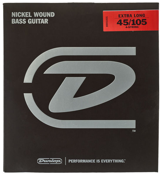 Dunlop Bass 4-String Set 45/105 XL