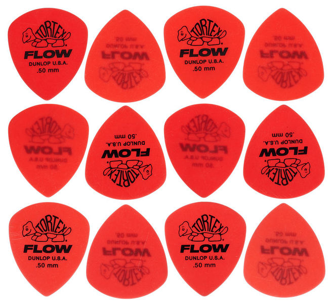Dunlop Standard Flow Pick Set 0,50 mm
