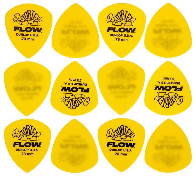 Dunlop Standard Flow Pick Set 0,73 mm