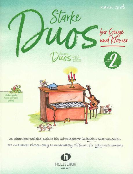 Holzschuh Verlag Starke Duos Violin 2